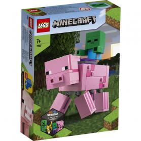 LEGO MINECRAFT 21157 MAXI-FIGURE MAIALE E BABY ZOMBI