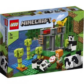 LEGO MINECRAFT 21158 L ALLEVAMENTO DI PANDA