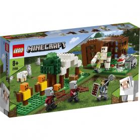 LEGO MINECRAFT 21159 L AVAMPOSTO DEL SACCHEGGIATORE