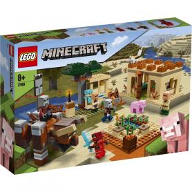 LEGO MINECRAFT 21160 L INCURSIONE DELLA BESTIA