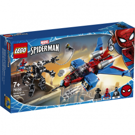 LEGO SUPER HEROES 76150 SPIDERJET VS MECH VENOM