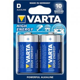 VARTA D  torcia  - High Energy x2 4920121412