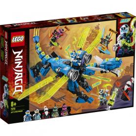LEGO NINJAGO 71711 IL CYBER DRAGONE DI JAY