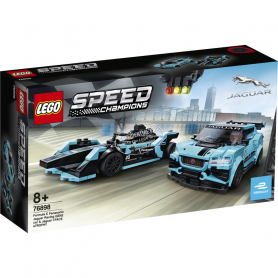 LEGO SPEED CHAMPIONS 76898 FORMULA E PANASONIC JAGUAR RACING GEN2 CAR   JAGUAR I-PACE E-TROPHY