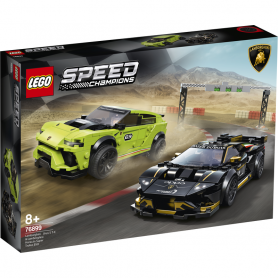 LEGO SPEED CHAMPIONS 76899 LAMBORGHINI URUS ST-X   LAMBORGHINI HURACAN SUPER TROFEO EVO