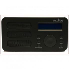 RLINE SOUNDAB METAL BLACK RADIO DIGITALE DAB  E FM CON BATTERIA RICARICABILE