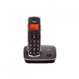 BRONDI BRAVO GOLD2 NERO TELEFONO CORDLESS