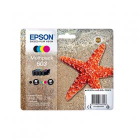 EPSON C13T03U64020 PACK 4 CARTUCCIE 603 NERO CIANO MAG. GIALLO  STELLA MARINA