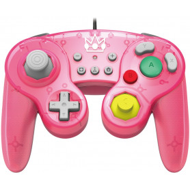 HORI BATTLE PAD  PEACH  Switch
