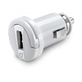 CELLULAR MICROCBRUSB2AW CARICABATTERIA AUTO USB IPH 10W BIANCO