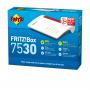 AVM 20002845 FRITZ BOX 7530 MODEM ROUTER VDSL 35B AC866, 4GIG. 1USB3, MESH
