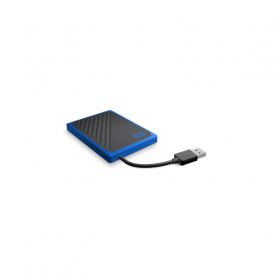 W.D. WDBMCG5000ABT MY PASSPORT GO SSD ESTERNO 500GB BLACK/BLUE USB 3.0