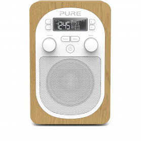 PURE EVOKE H2 OAK RADIO DAB