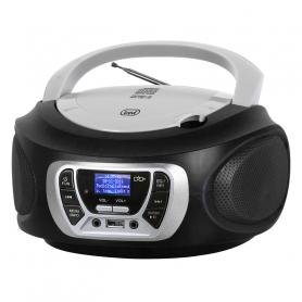 TREVI CMP 510 DAB RADIOREGISTRATORE DAB C/CD USB MP3 BLACK