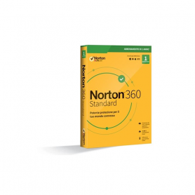 NORTON 360 STANDARD 2020 1 Dispositivo 12 Mesi 10Gb , Senza abbonamento - IT Box software antivirus