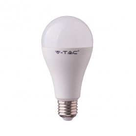 V-TAC 2753 SMART Lampadina LED E27 15W A60 Comp. Google Home e Amazon Alexa RGB e 3 in 1 Dimmerabile