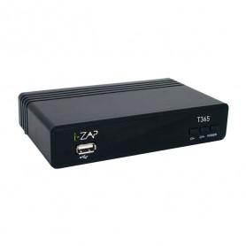 IZAP T365 DECODER DIG TERR T2 HVEC