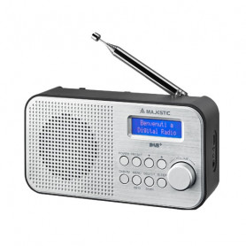 MAJESTIC RT 194 DAB RADIO DAB  PORTATILE MP3 BAT RIC