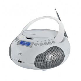 NEWMAJESTIC AH 265 DAB  BIANCO RADIOREGISTRATORE CD/USB