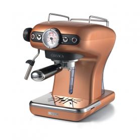 ARIETE 1389/8RAME MACC.CAFFE  POLVERE CIALDE CLASSICA RAME