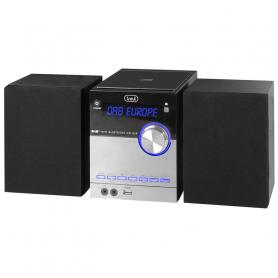 TREVI HCX10D8DAB STEREO MICRO DAB C/CD MP3 BT 30W NFC BLACK/SILVER