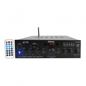 KARMA PA-2380BT AMPLIFICATORE STEREO MP3 BT USB SD RCA