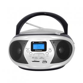 TREVI CMP548BLAC RADIOREGISTRATORE FM C/CD USB MP3 BLACK