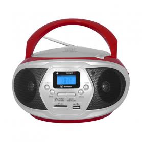 TREVI CMP548RED RADIOREGISTRATORE FM C/CD USB MP3 RED