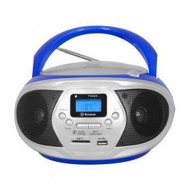 TREVI CMP548BLUE RADIOREGISTRATORE FM C/CD USB MP3 BLUE