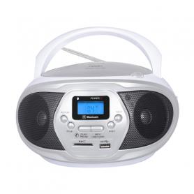 TREVI CMP548WHIT RADIOREGISTRATORE FM C/CD USB MP3 WHITE