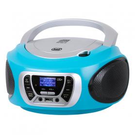 TREVI CMP510TURC RADIOREGISTRATORE DAB C/CD USB MP3 TURCHESE