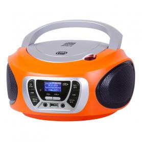 TREVI CMP510DABO RADIOREGISTRATORE DAB C/CD USB MP3 ORANGE