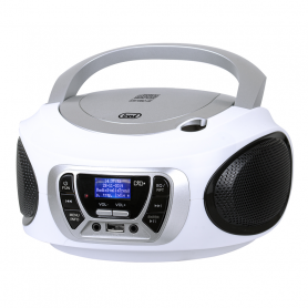 TREVI CMP510DABW RADIOREGISTRATORE DAB C/CD USB MP3 WHITE