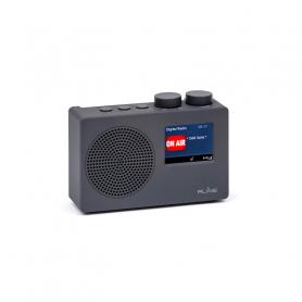 RLINE DABONEGREY RADIO DAB ONE LCD 2,4  DARK GREY