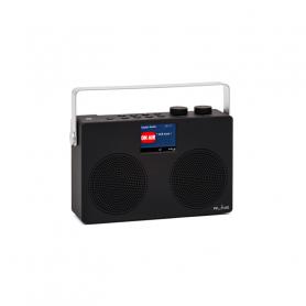 RLINE DABTWOBLAC RADIO DAB TWO LCD 2,8  BLACK