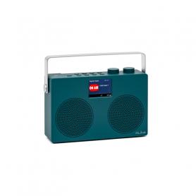 RLINE DABTWOBLUE RADIO DAB TWO LCD 2,8  BLUE PETROLEUM