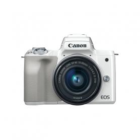 CANON EOSM50 15/ FOT MIR 24MPX   EF-M 15-45MM WHITE
