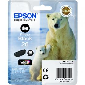 EPSON T261140 C.INK NERO FOTO 26 ORSO POLARE