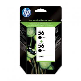 HP C9502AEBL C.INK NERO 56 2 CARTUCCE