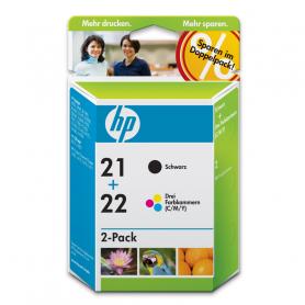 HP SD367AE C.INK MULTIPACK NERO/COLORE 21/22