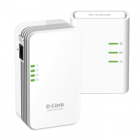 D-LINK DHP-W311AV POWERLINE MINI WIFI 500MBPS KIT 2PZ LAN 10/100