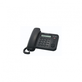 PANASONIC KXTS580EX TELEFONO TAVOLO DISPLAY VIVAVOCE BLACK