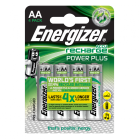 ENERGIZER 4AA-RIC-PP E300626701 PILA STILO POWER PLUS RICARICF012