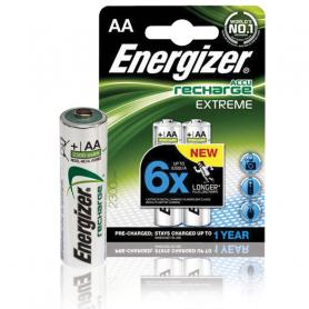 ENERGIZER 2AA-RIC-XT E300624501 PILA RIC. STILO EXTREME AA BCF012