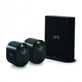 ARLO ULTRA - KIT DA 2 CAMERE BASE - BLACK VMS5240B-100EUS INN310