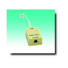 G BL 721-FILTRO ADSL SPINA PLUG 6P/4C - PRESA PLUG 6P/4C