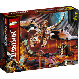 LEGO NINJAGO  71718 DRAGONE DA BATTAGLIA DI WU