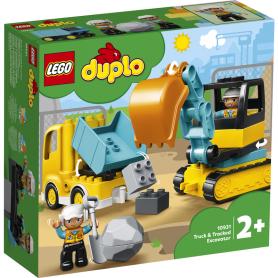 LEGO 10931 DUPLO TOWN CAMION E SCAVATRICE CINGOLATA