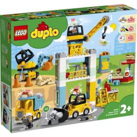 LEGO 10933 DUPLO TOWN CANTIERE EDILE CON GRU A TORRE