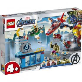 LEGO 76152 SUPER HEROES L  IRA DI LOKI DEGLI AVENGERS